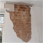 Plastering repair in Woodley