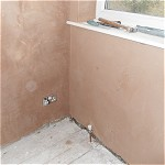 Plaster skim to bedroom walls and ceiling: Bredbury, Stockport