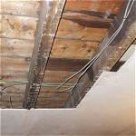 Water damaged ceiling repair: Romiley, Stockport